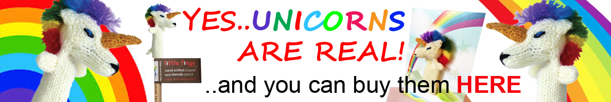 Top banner - Unicorns are real